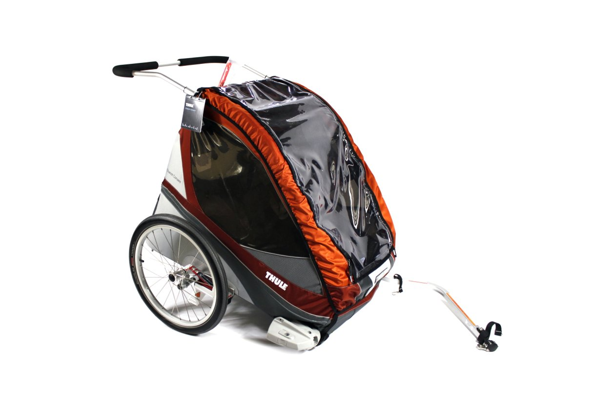 Thule Chariot Corsaire 1 Orange Inkl Fahrradset 2016