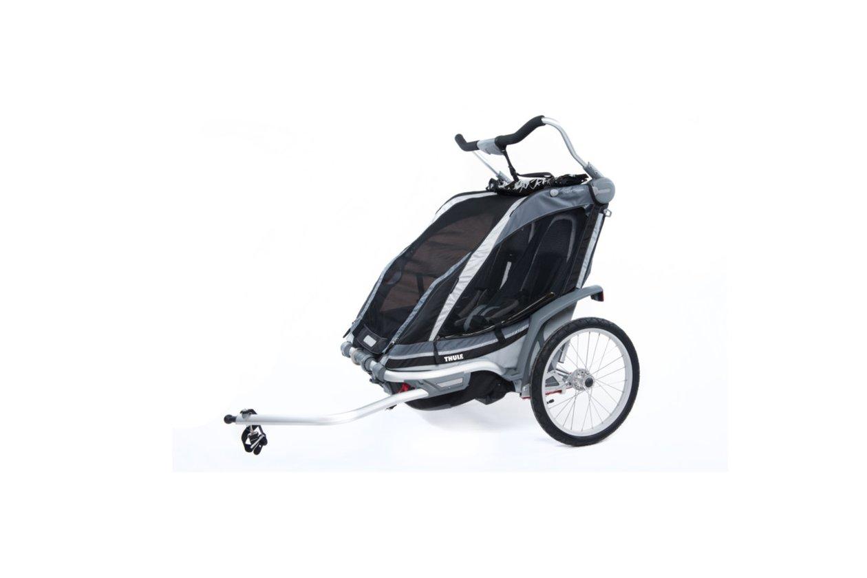 Thule Chariot Chinook 2 Schwarz 2016 24 Fahrrad Xxl