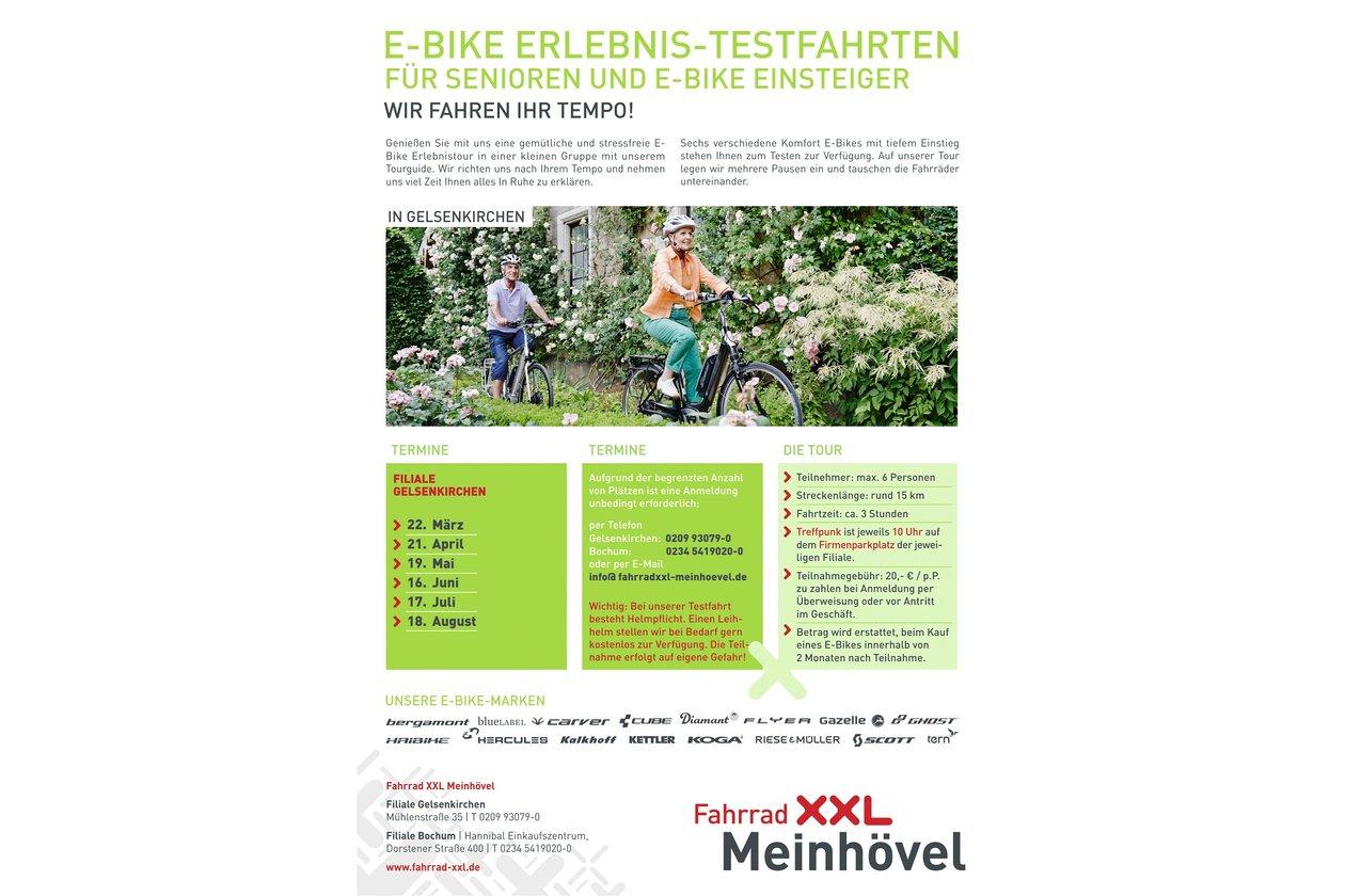 fahrrad xxl e bike erlebnis testfahrten bei fahrrad xxl. Black Bedroom Furniture Sets. Home Design Ideas