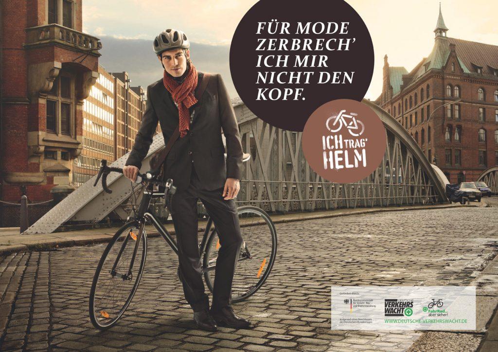 """Aktion """"Ich trag' Helm"""""""