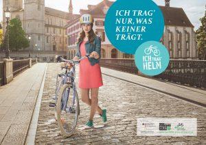 """Plakatkampagne """"Ich trag' Helm"""""""