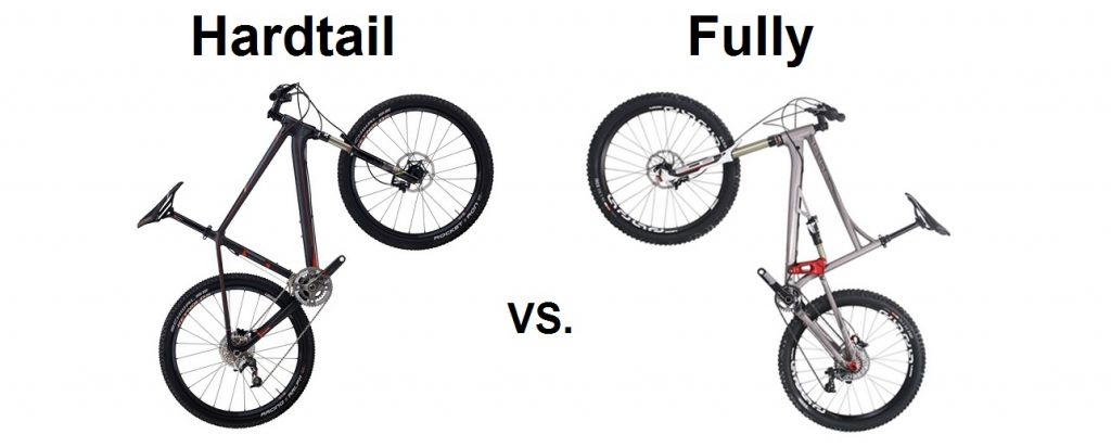 Hardtail oder Fully MTB?