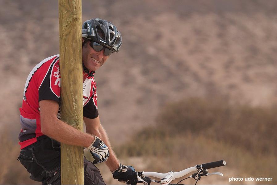 Das Gesicht hinter Volcano Bike Ralph Bärtle © Volcano Bike S.L. Fuerteventura