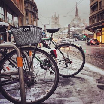 E Bike und schlechtes Wetter © elvistudio - Fotolia.com