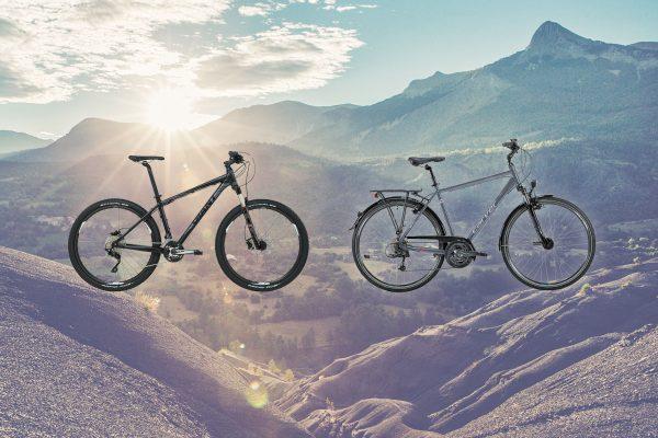 Mountainbike vs. Trekkingrad - was passt zu dir?