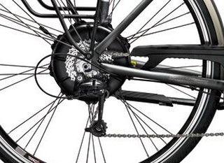Hinternabenmotor E-Bike