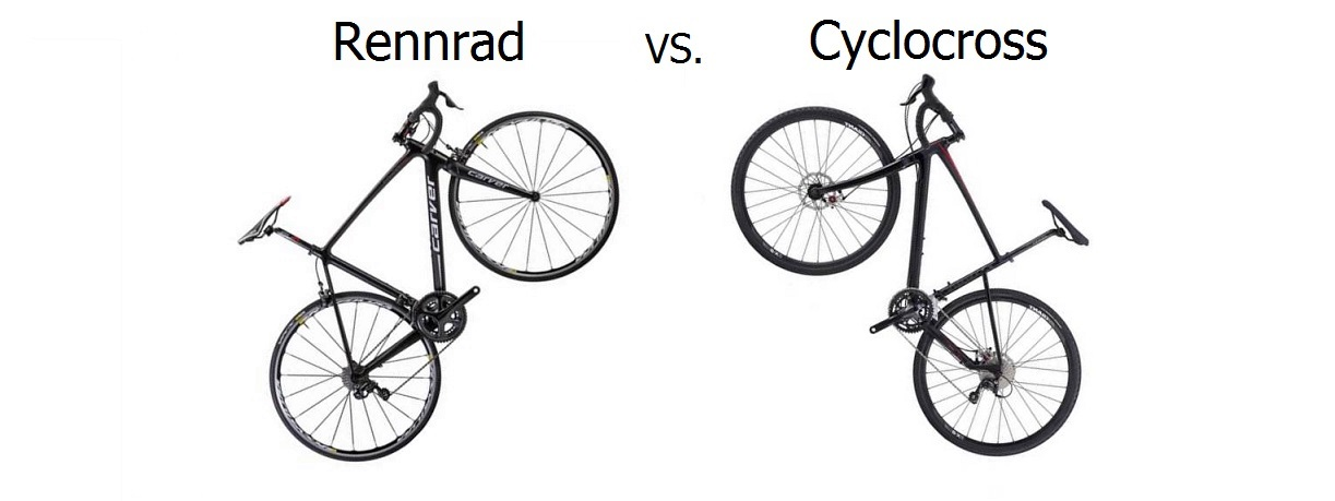 rennrad oder cyclocross gegenüberstellung