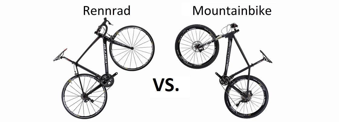 Rennrad oder Mountainbike © Fahrrad XXL
