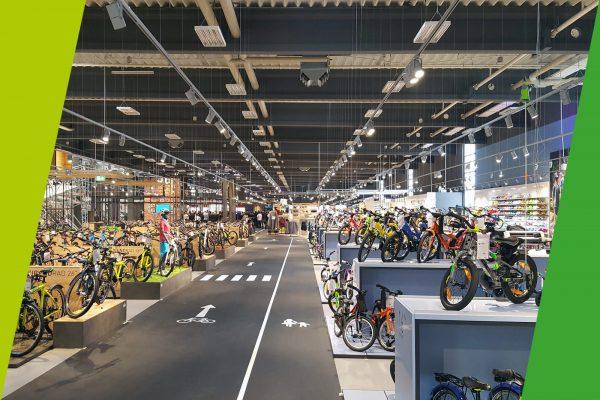 Neue Fahrrad XXL Franz Filiale eröffnet