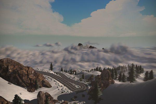 21 Kehren musst du in Alp du Zwift bezwingen