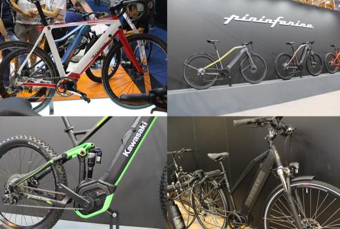 Eurobike 2018 E-Bikes Auto-/Motorradhersteller
