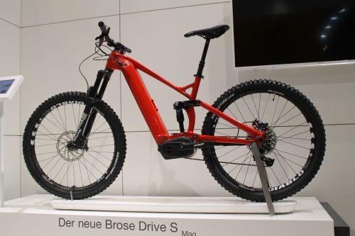 Eurobike 2018 Brose Drive S-Mag E-Bike