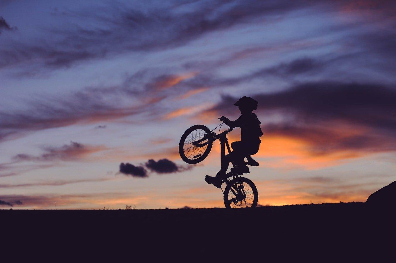 Radtour in den Abendstunden