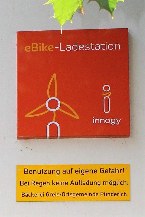 E-Bike Ladestation & Tankstelle - das E-Bike unterwegs aufladen