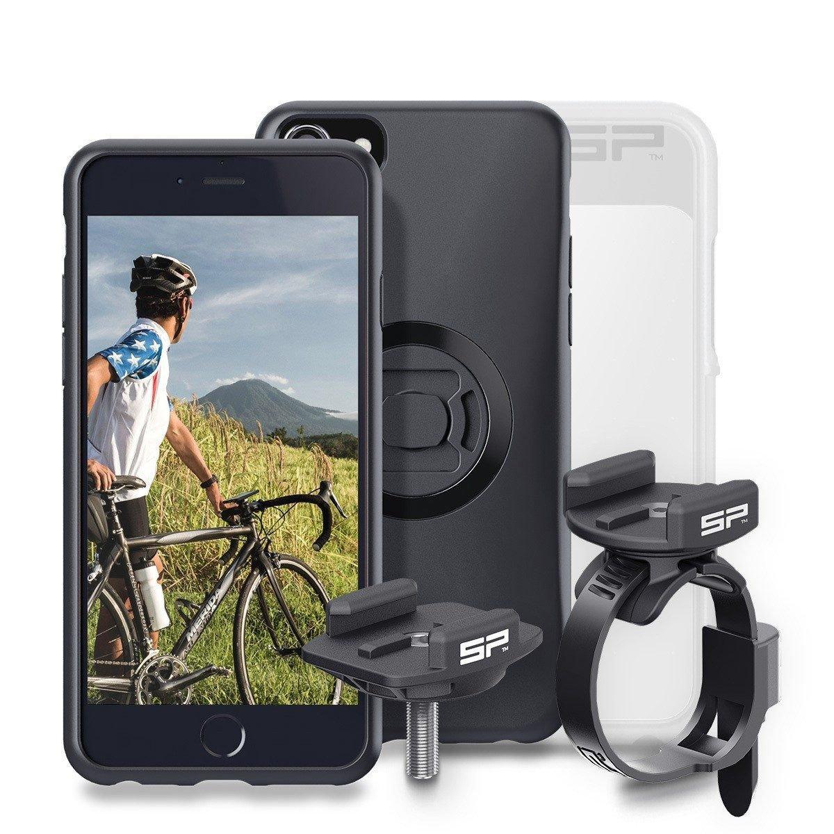 SP Connect Bike Bundle - mit Halterung für dein Smartphone und einer Schutzhülle vor Regen.