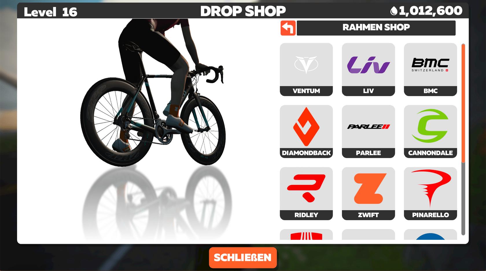 Drop Shop Rahmen Shop