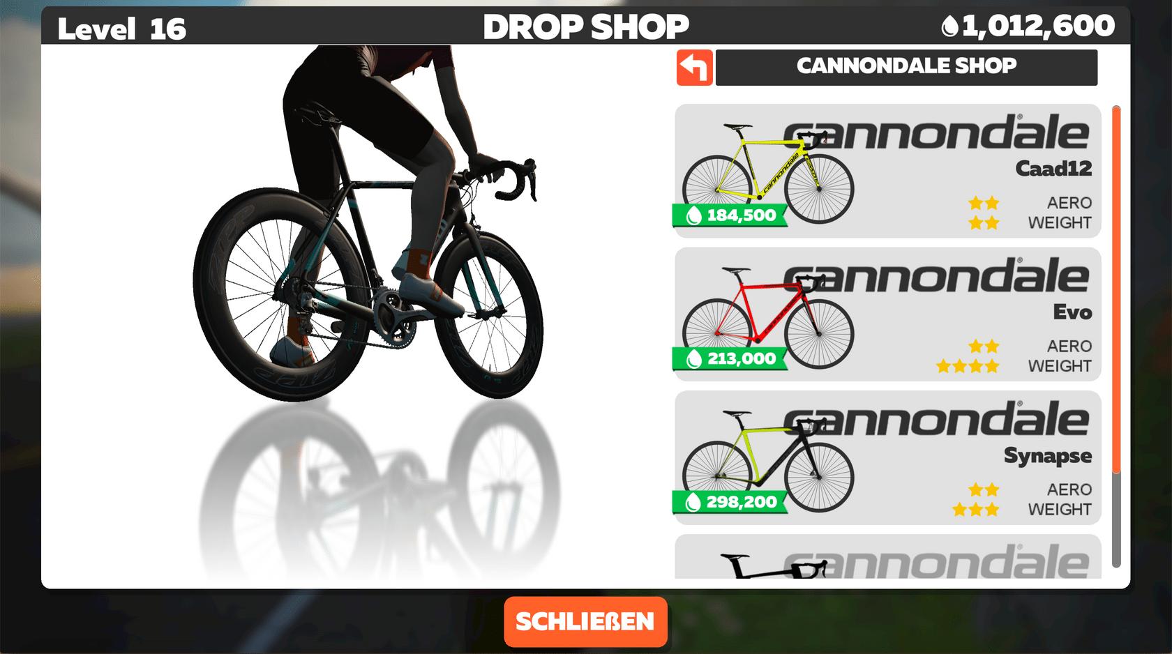 Drop Shop Rahmen Shop Cannondale