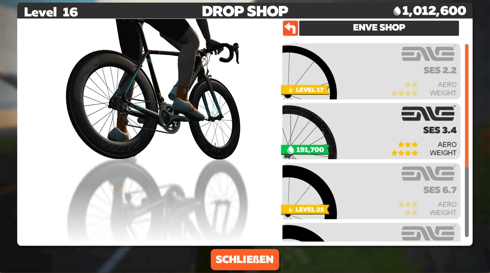 Drop Shop Rad Shop Enve Laufräder