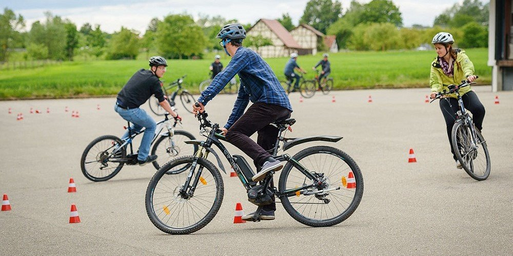 E-Bike Fahrtraining [© Robert Bosch GmbH]