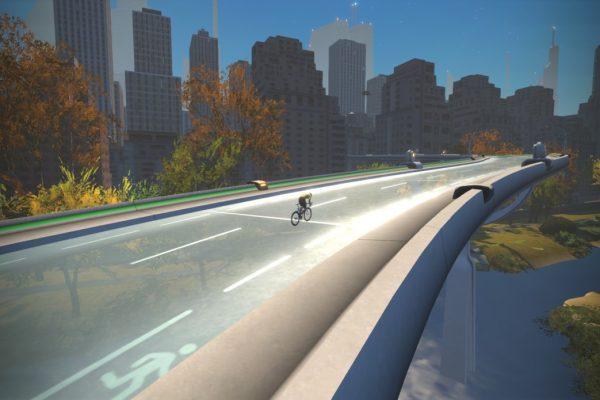 Zwift Update: Virtuelles Radfahren durch ein New York in 100 Jahren