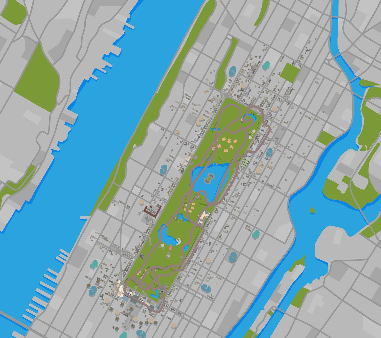 MiniMap von New York