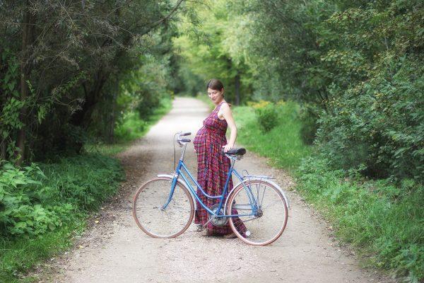 Babybauch und Fahrradfahren? Ja, bitte!