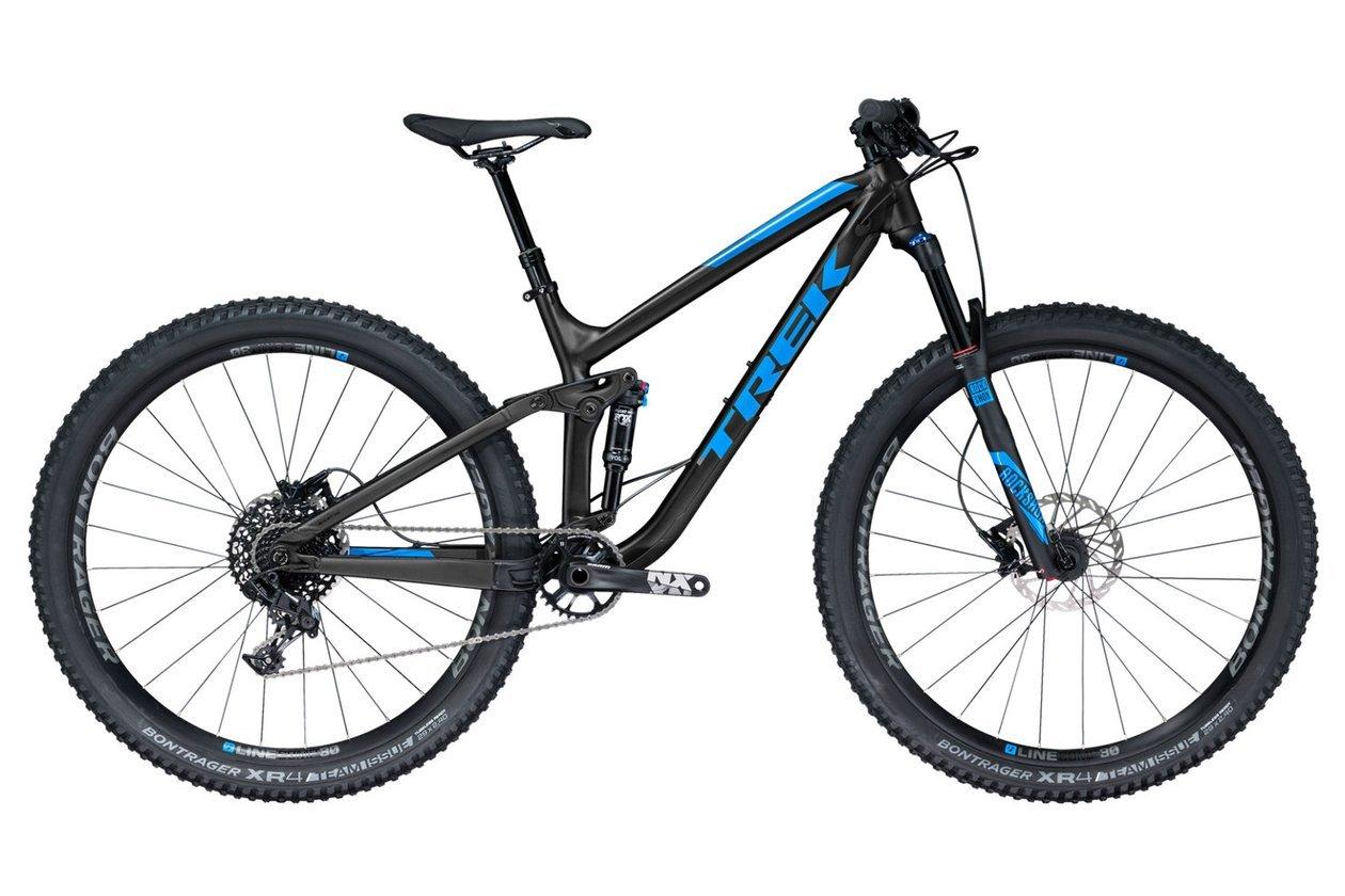 Das Mountainbike ist ideal für den Einsatz im Gelände und eignet sich für verschiedene Untergründe.