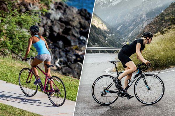 Fitnessbike vs Rennrad