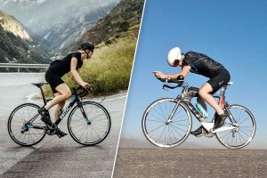 Rennrad vs Triathlon