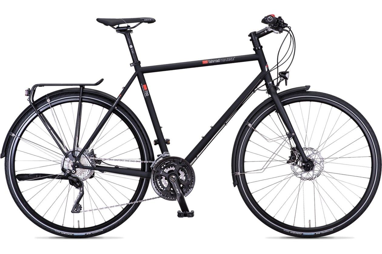 Trekkingräder sind das ideale Gefährt für lange Strecken, eignen sich jedoch auch für den Alltag in der Stadt.