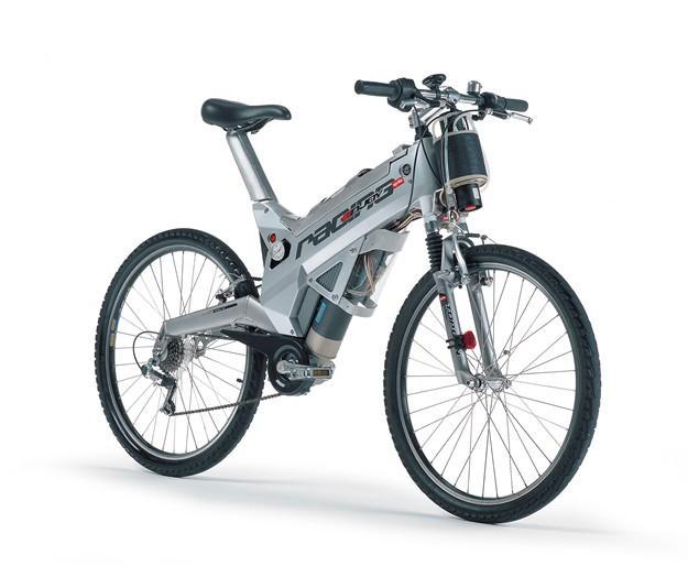Aprilia Wasserstoff E-Bike Studie 2001