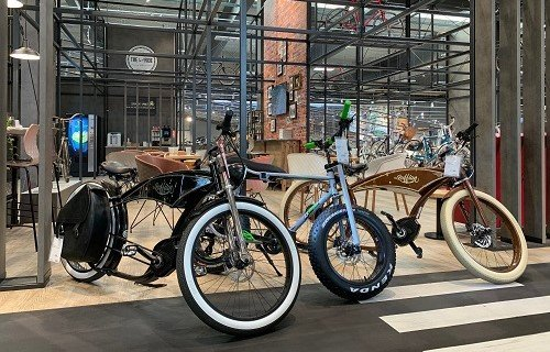 Ruff Cycles in unserer Filiale in Griesheim