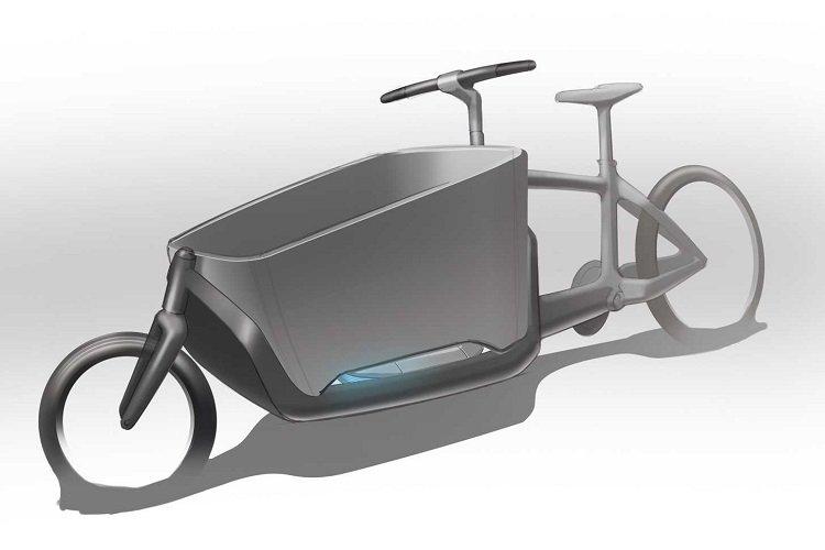 Lastenrad-Brennstoffzellen Studie [© DLR]