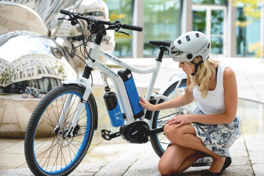 Linde Wasserstoff E-Bike Prototyp 2015