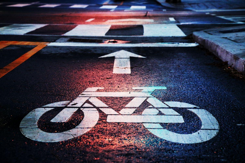 Leichte Fahrräder - hier entlang