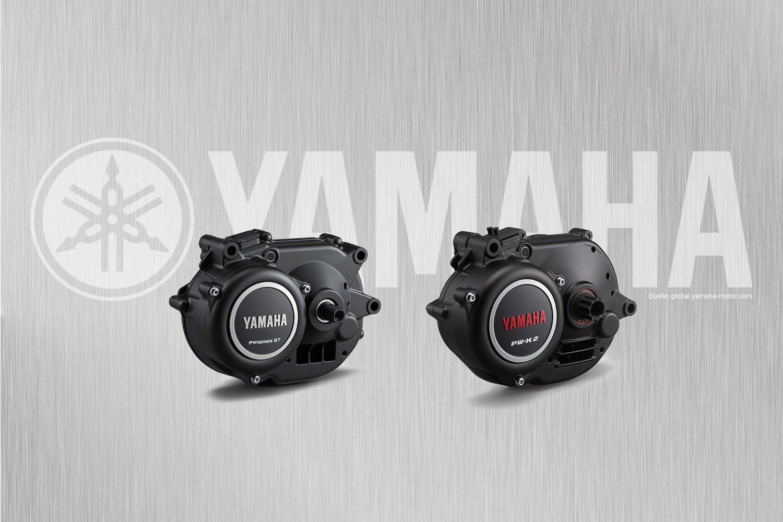 Yamaha E-Bike Motoren 2020