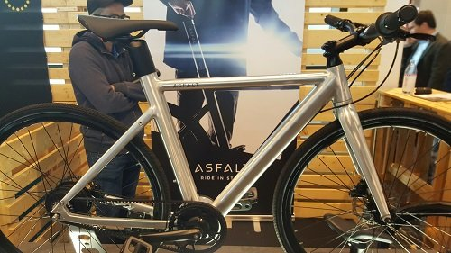 ASFALT E-Bike mit Dual Akku
