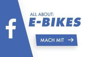 Werde Teil unserer E-Bike Gruppe auf Facebook!