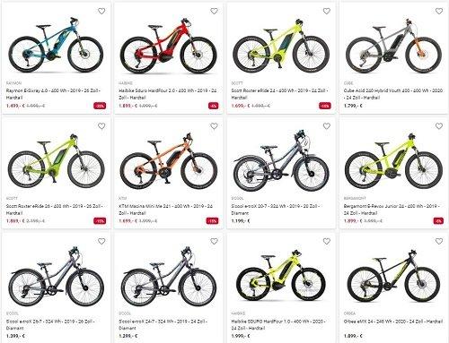 Kinder E-Bikes 2020