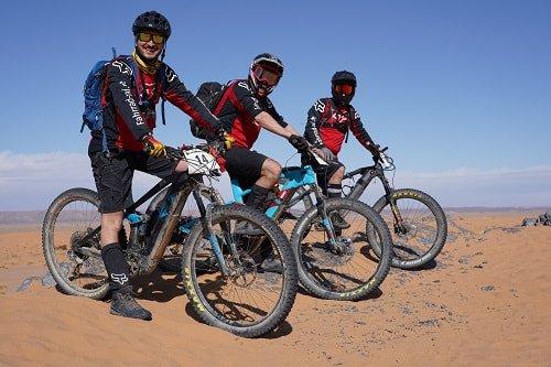 In der Wüste zählt Teamwork!