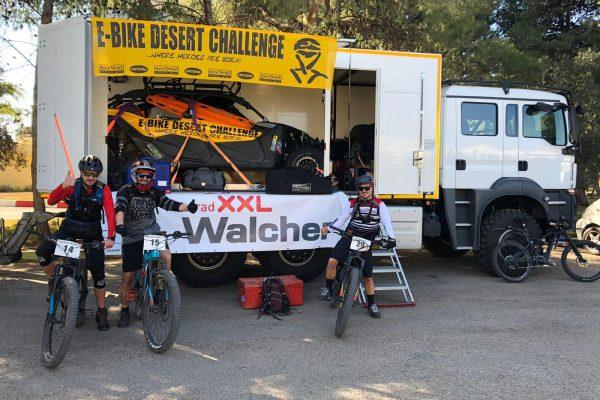 E-Bike Desert Challenge 2020 – Fahrrad XXL ist dabei!