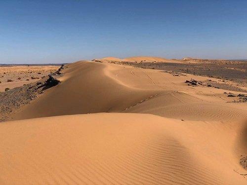 Sand soweit das Auge reicht