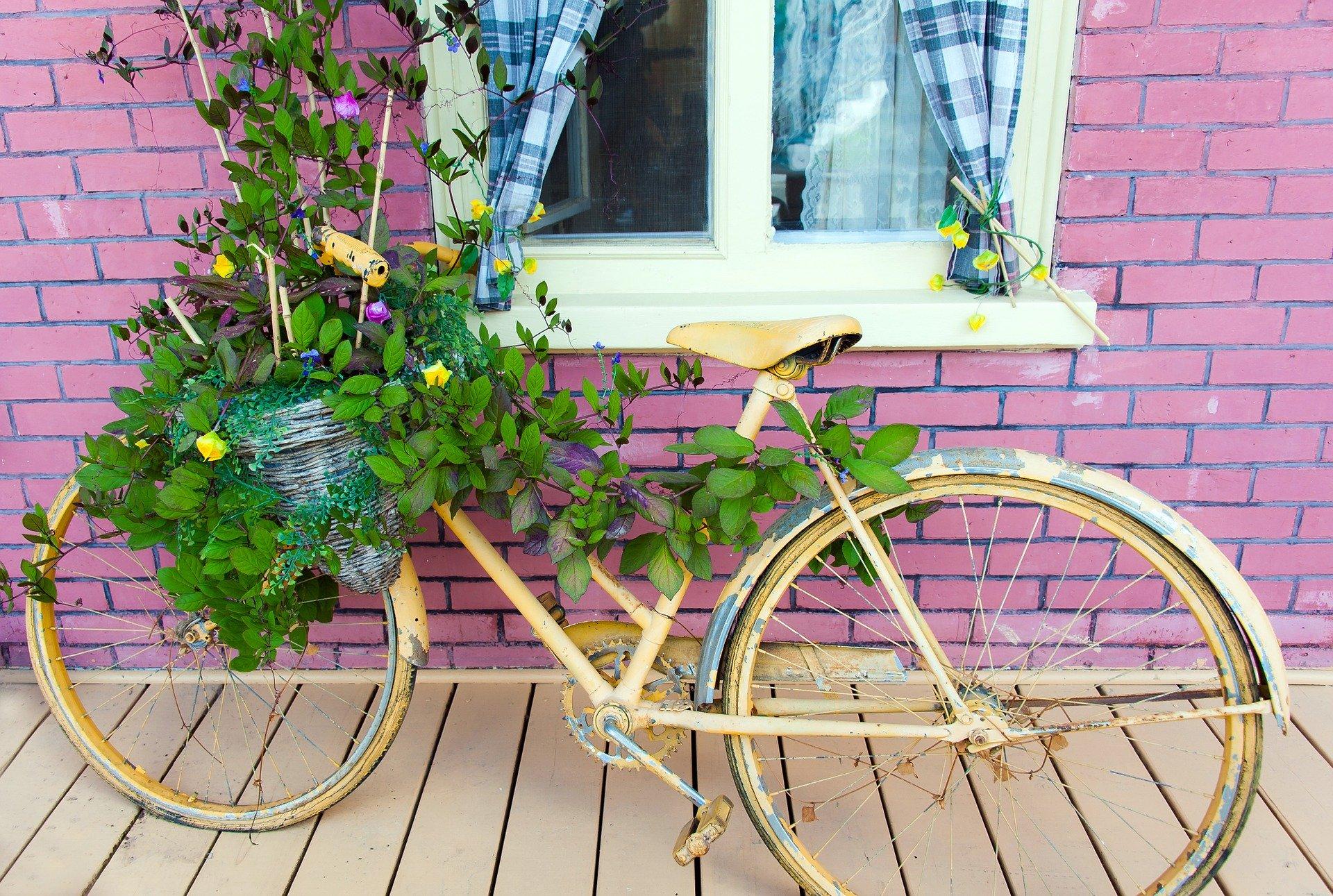 Fahrrad Deko 2