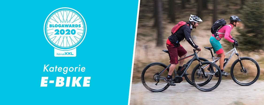 Fahrrad XXL Blogawards 2020 Kategorie: E-Bike