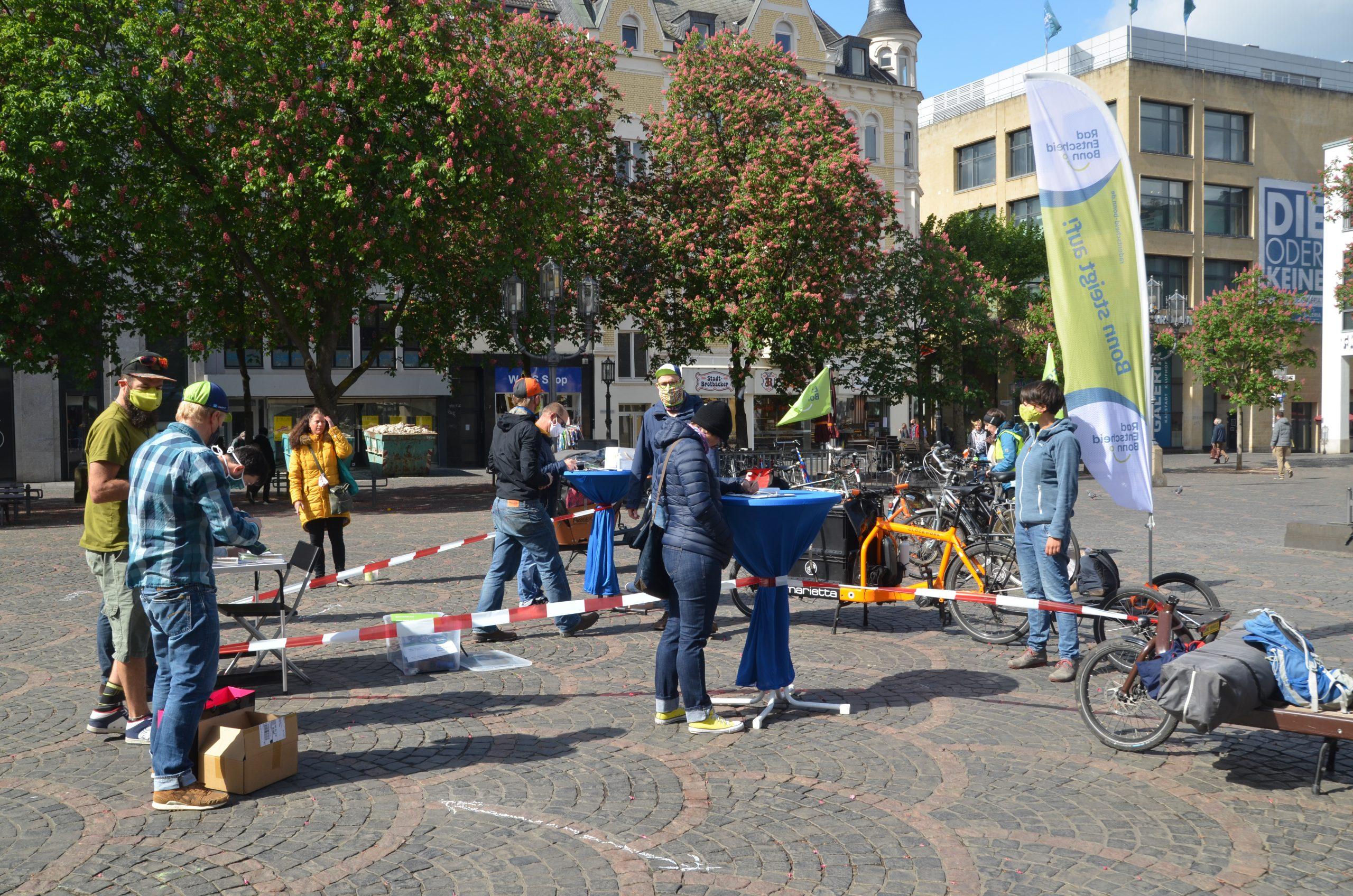 Radentscheid Bonn Aktion