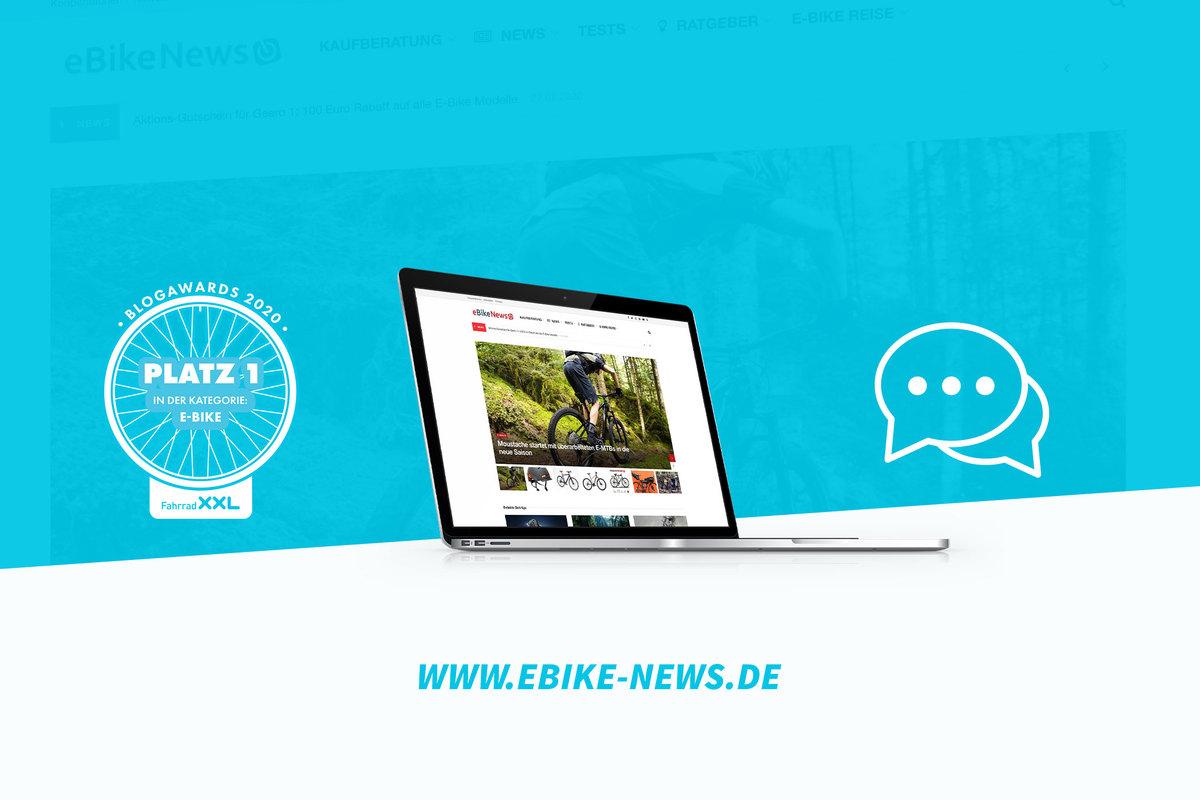 Fahrrad XXL Blogawards 2020 Interview mit dem Sieger der Kategorie E-Bike