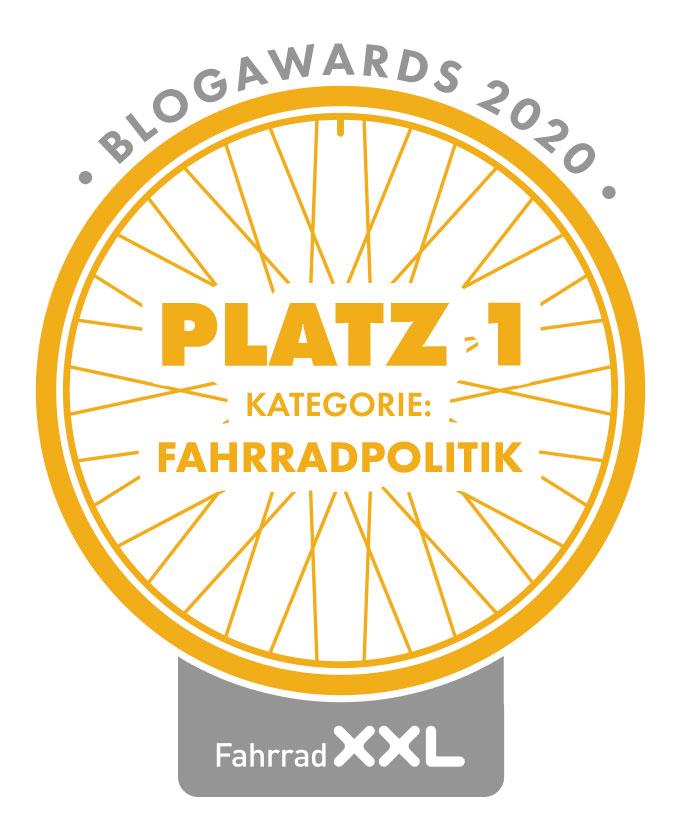 Fahrrad XXL Blogawards 2020: Interview mit der Siegerin der Kategorie Fahrradpolitik