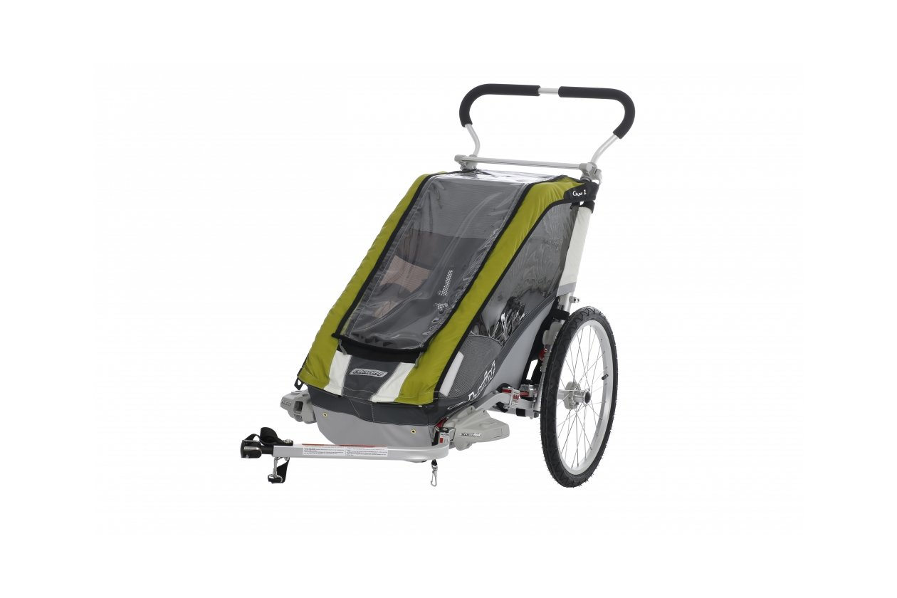 Thule Chariot Cougar 1 Avocado Inkl Fahrradset 2016