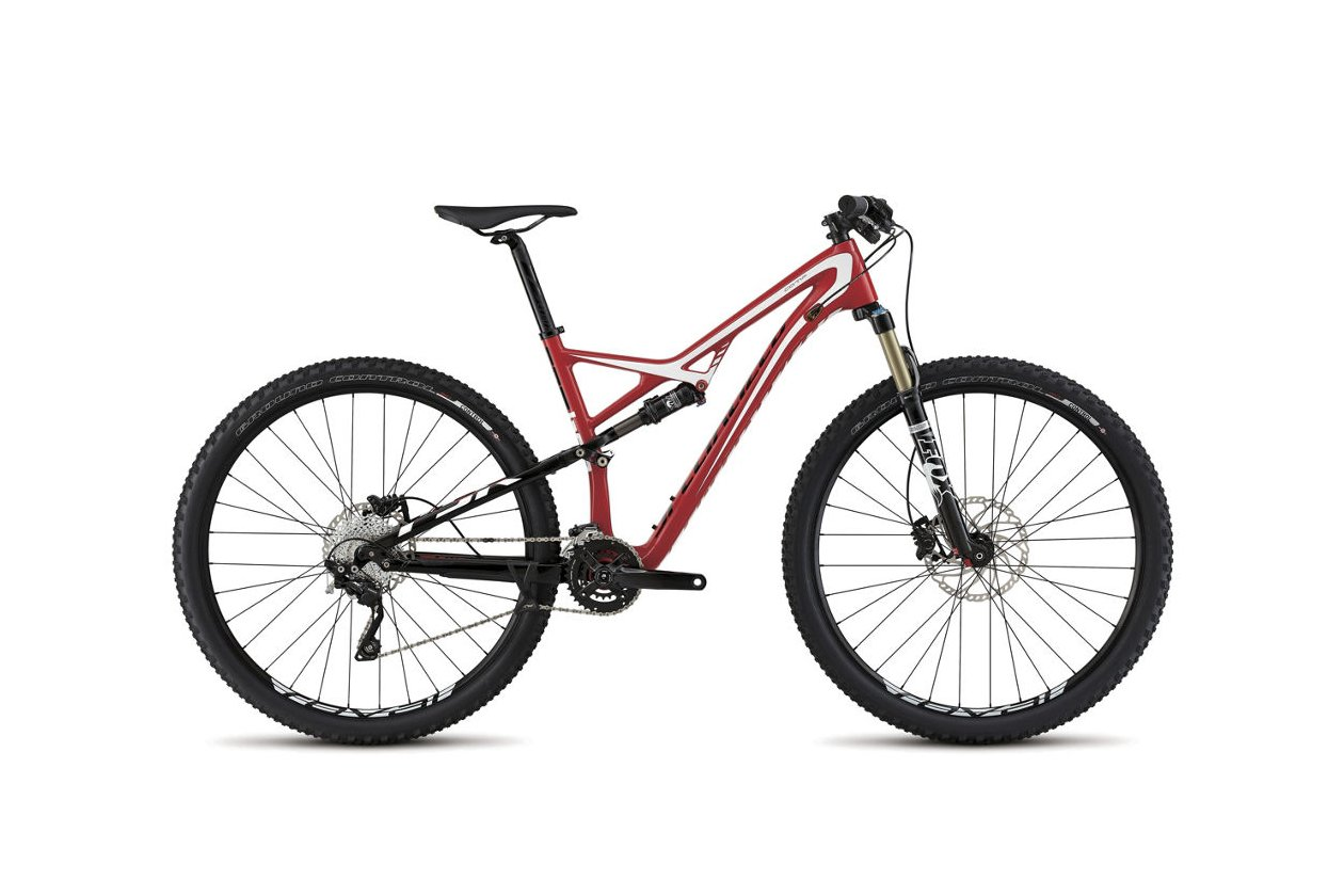 Specialized Camber FSR Comp Carbon 29 - 2015 - 29 Zoll - Fully