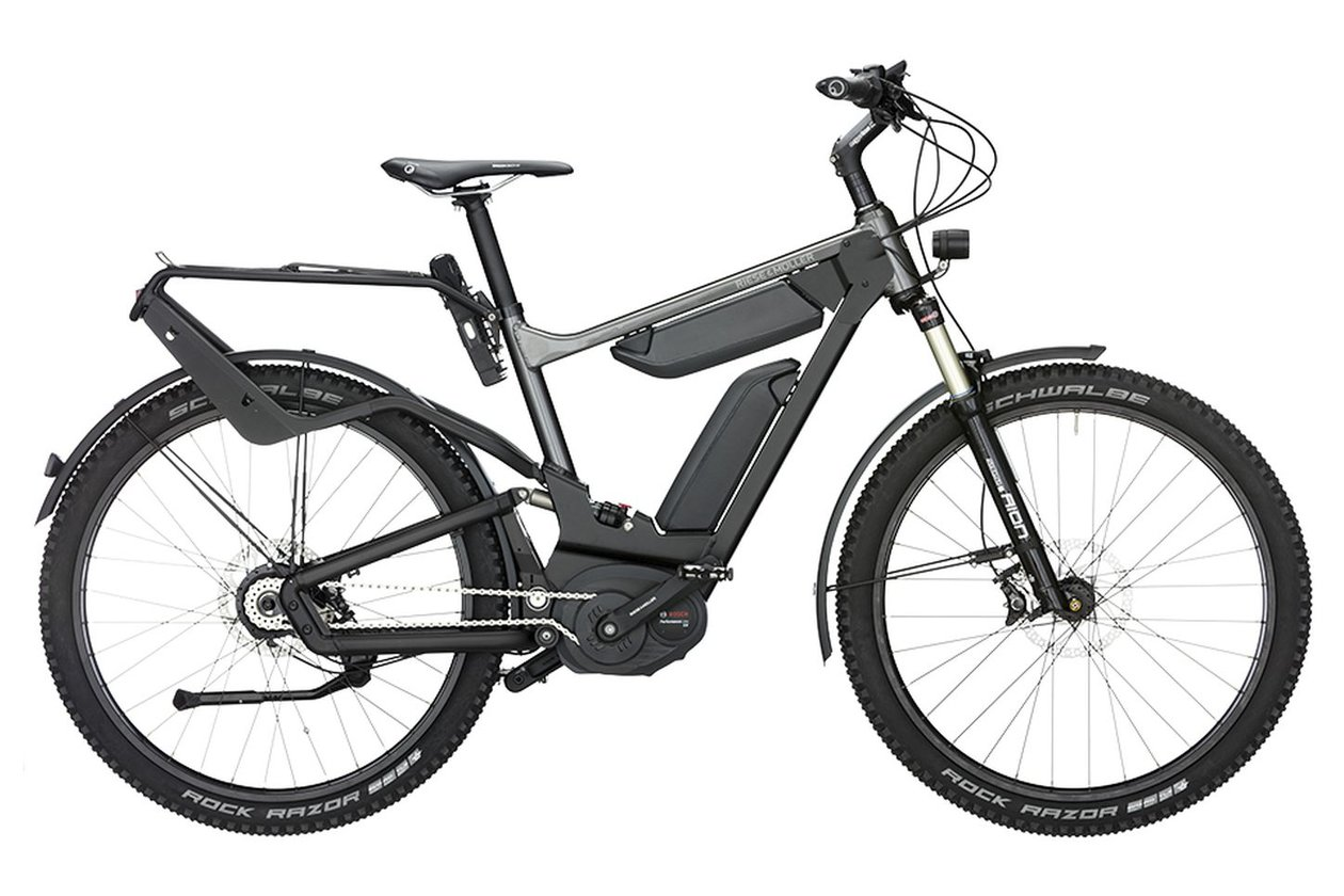 Riese und Müller Delite GX rohloff 1000 Wh (DualBattery) Nyon Display - 2017 - 27,5 Zoll - Diamant